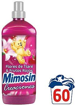 Mimosín Suavizante de Flores de Tiaré y Frutos Rojos Creaciones 60 lavados