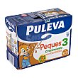Preparado lácteo infantil crecimiento cereales a partir 1 año Puleva Peques 3 Brick pack 6 x 1 l - 6 l Puleva Peques