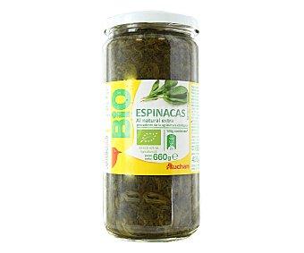 Vivir Mejor Auchan Espinacas al Natural Bio 425g