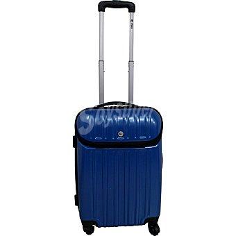 ORALLI Berlín Trolley rígido con bolsillo frontal en color azul de 50 cm