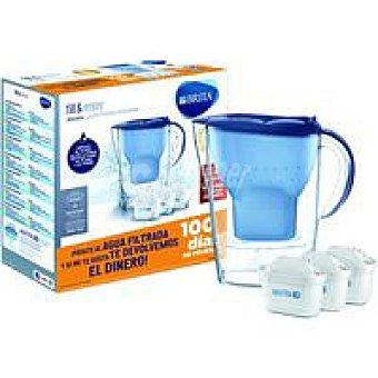 Brita Jarra Marella azul 3 filtros Pack 1 unid
