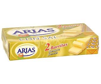Arias Mantequilla Pastilla con Sal Pastilla de 125 Gramos