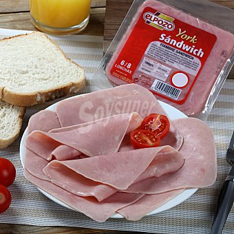 ElPozo Fiambre de sandwich Envase de 160 g