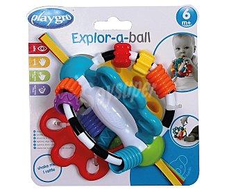 PLAYGRO Bola exploradora para bebé 1 unidad