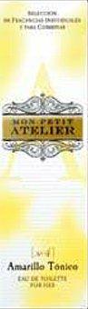 Mon Petit Atelier Eau toilette mujer amarillo tonico vaporizador Botella 20 cc