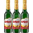 Cerveza rubia checa pack 3 botella 33 cl + Abridor pack 3 botella 33 cl Budejovicky