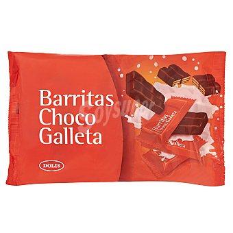 Dolis Chocolatina barrita choco galleta mini Paquete 195 g