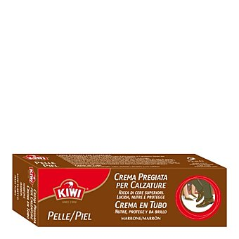 Kiwi Crema autobrillante sin cepillar marrón 40 ml