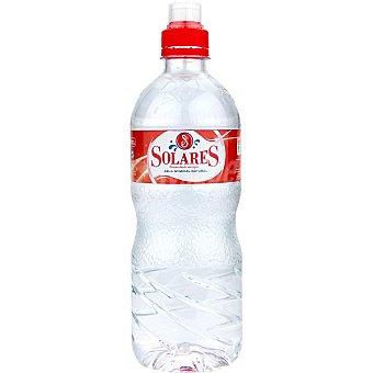 Solares Agua mineral botella 75 cl con tapón sport Botella 75 cl