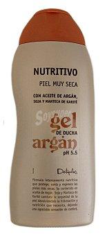 Deliplus Gel baño piel muy seca nutritivo aceite argan Botella 500 cc