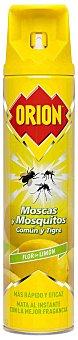 Orion Insecticida volador antimoscas y mosquitos comun y tigre limon spray 600 ml Spray 600 ml