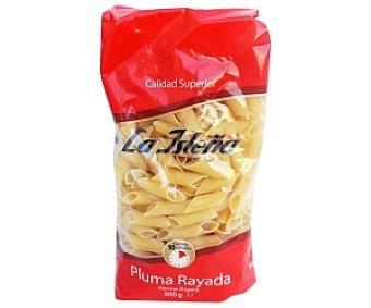 La Isleña Plumas Rayadas, pasta de sémola de trigo duro de calidad superior 500 Gramos