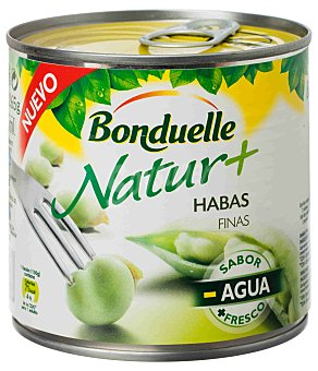 Bonduelle Natur + Habas finas lata 265 g neto escurrido Lata 265 g neto escurrido