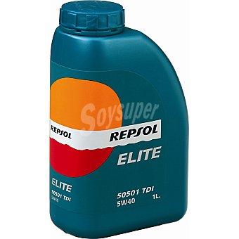 REPSOL Elite Aceite de motor TDI 5W40 bidón 1 l