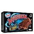 Sandwiches de chocolate negro con trocitos de cookies Pack 4 x 150 ml Maxibon Nestlé