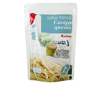 Auchan Salsa 4 Quesos 180g