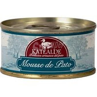 Katealde Mousse de pato artesano Lata 80 g