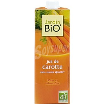 JARDIN BIO' zumo de zanahorias biológico envase 1 l