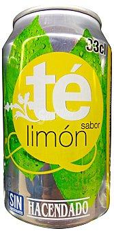 HACENDADO Refresco té limón LATA 330 cc