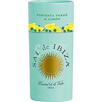 Sal de Ibiza Granito sal con pimienta verde y limón envase 85 g envase 85 g