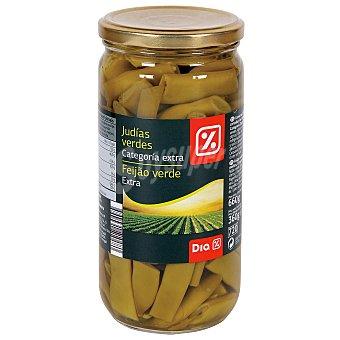 DIA Judías verdes cortadas categoría extra Frasco 360 gr