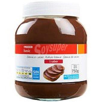 Eroski Basic Crema de cacao 1 sabor Bote 750 g