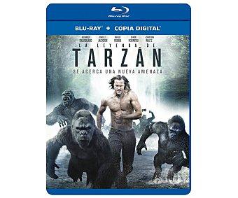 Aventuras La leyenda de Tarzán, 2016, película en Bluray. Género: aventuras, naturaleza. Edad: +7 años
