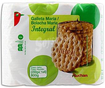Auchan Galleta maría integral 800 gramos