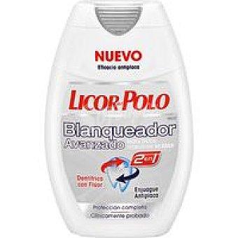 Licor del Polo Dentrifíco blanqueante 2en1 Pack 2x75 ml
