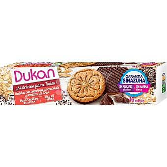 Dukan Galletas de chía y chocolate 160 g
