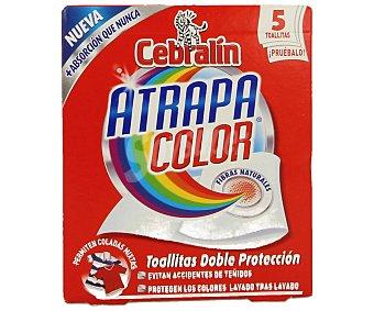 Cebralín Toallitas Cebralín Atrapacolor 5 ud