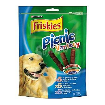 Purina Friskies Barritas para perros adultos Picnic Variety Multipack pollo, cordero y buey 378 gr