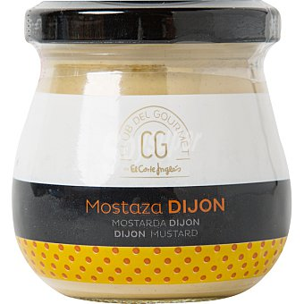 Club del gourmet Mostaza de Dijon frasco 125 g frasco 125 g
