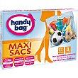 Bolsa multiusos Maxi Sacs ahorra espacio con cierre hermético talla XL caja 3 unidades 3 unidades Handy bag