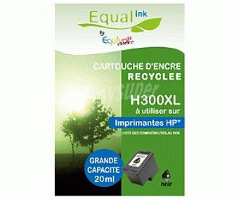 Equalink Cartuchos Reciclados de Tinta H300XL Negro 1u