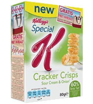 Special K - Kellogg's Patata Cracker Crips con cebolla Special K 80 g