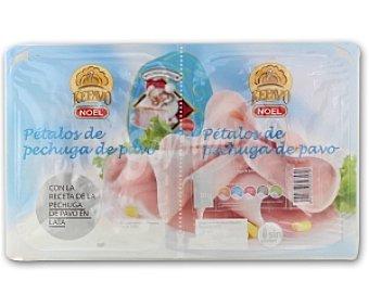 Noel Pechuga pavo cocida pétalos, con la receta pechuga pavo cocida en lata 2x60g