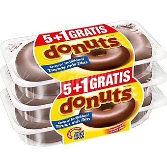 DONUTS bombón envase 312 g 5 unidades