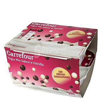 Carrefour Yogur griego con cereales Pack de 2x125 g