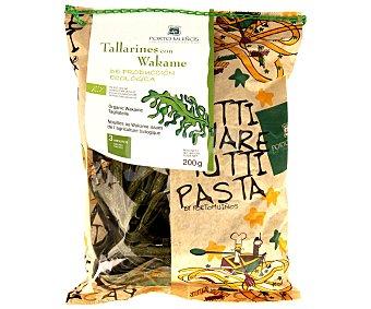 Porto Muiños Tallarines con wakame de producción ecológica 200 gramos