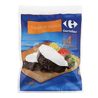 Carrefour Rodajas de merluza 400 g