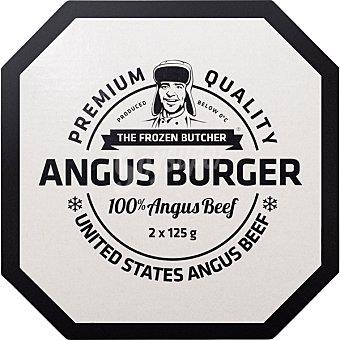 THE FROZEN BUTC Angus Burger Hamburguesa de angus estuche 250 g 2 unidades