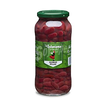 La Asturiana Alubias rojas cocidas Frasco 400 gr
