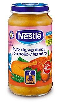 Nestlé Tarrito de Pollo y Ternera con Verduras Tarro de 250 gramos