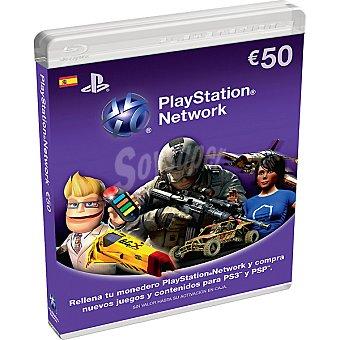 PS VITA Tarjeta Live Card 50 euros para PS3/PSP/