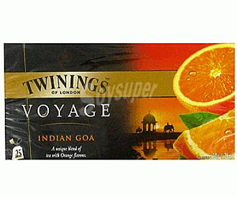 Twinings Té Indian Goa (Té y Aroma de Naranjas) 25u