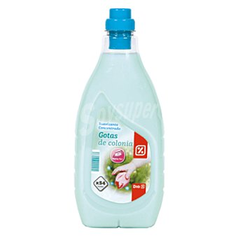 DIA Suavizante concentrado con gotas de colonia botella 54 lv