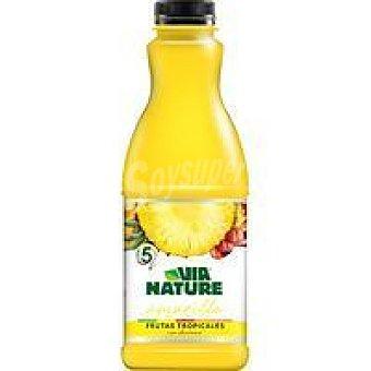 VIANATURE Bebida de frutos tropicales con guaraná 90cl
