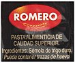 Pasta Tallarín Romero 500 gr Romero