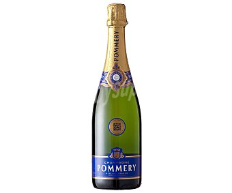 POMMERY Champagne Brut Royal 75 Botella de 75 Centilítros